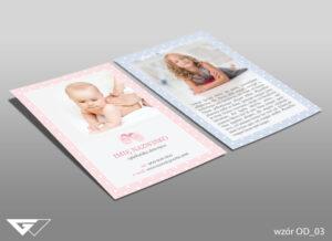 Ulotka dla opiekunki dziecięcej chłopiec, dziewczynka, niemowle
