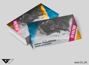 Wizytówka dla DJ- a stylowa, oryginalna, szybka realizacja