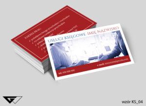 Wizytówki dla księgowego doświadczenie, profesjonalizm, dokładność
