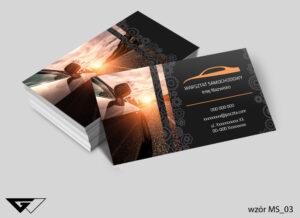 Wizytówki dla warsztatu samochodowego prędkość, samochód, droga
