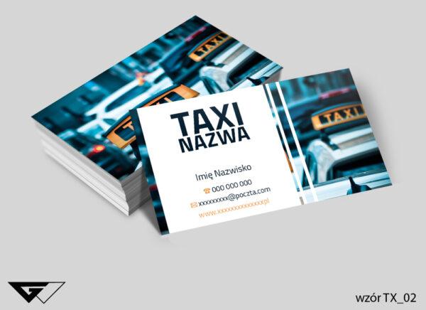 Wizytówki dla taxi transport, przewóz, wygoda