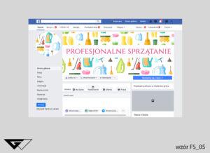 Tło na facebook profesjonalne sprzątanie, czysto, mycie,sprzątaczka
