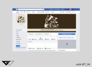 Tło na facebook weterynarz obrazek, szybka realizacja