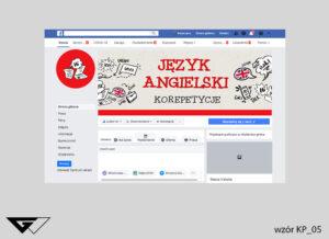 Tło facebook nauka języka angielskiego, korepetycje tanio, szybko, dokładnie