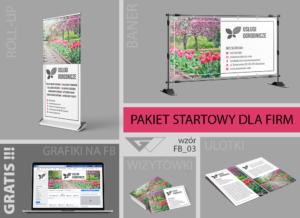 Pakiet startowy dla firm, tanio, szybko, profesjonalnie,elegancko, indywidualne projekty, banery, ulotki,wizytówki,covery na fb, roll-up