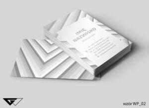 Wizytówka_pionowa_geometryczna_elegancka_klasyczna_gotowe_wzory_indywidualne_projekty_ideatree_Myślenice